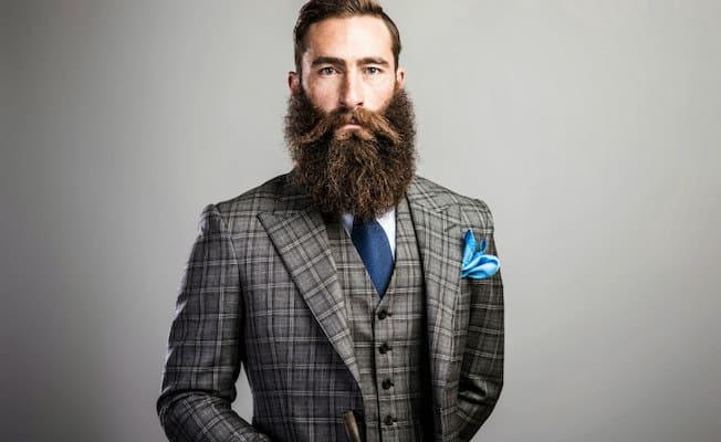 Beards-in-suit