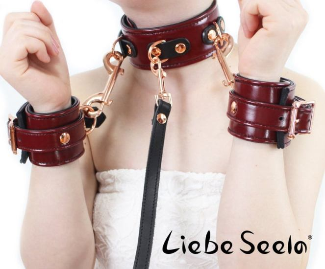 Special Red Wine Thick Leather
